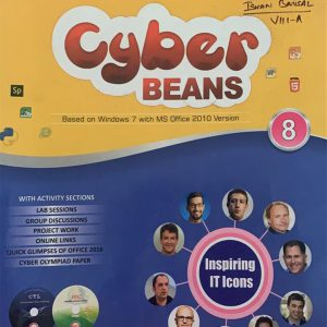 Cyber beans computer book for class eighth