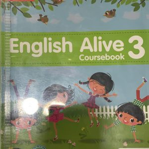 English alive course book class three