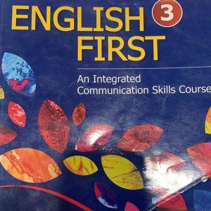 English first English grammar book for class three