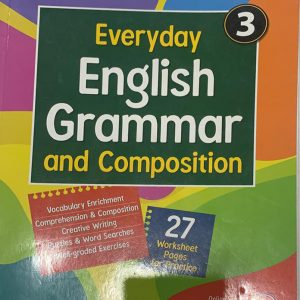 English grammar and composition for class three