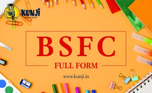 bsfc full form