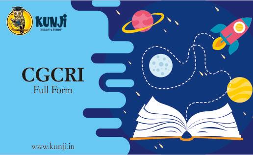 cgcri full form