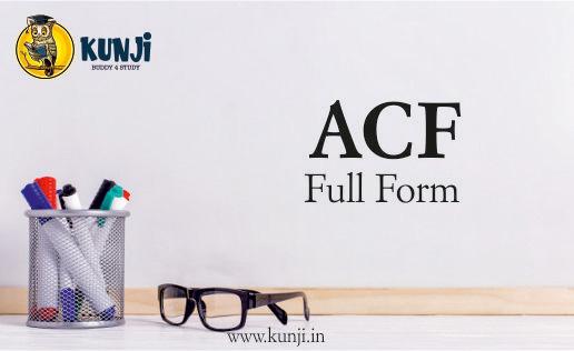 ACF full form