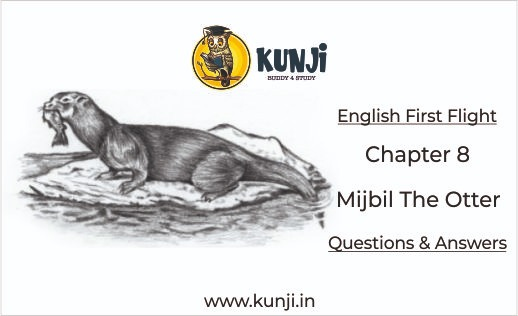 NCERT Solutions for Mijbil The Otter Class 10 English Chapter 8