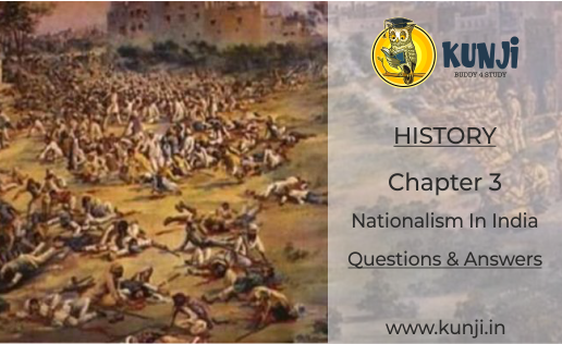 Nationalism in India History Class 10 Chapter 3 Question Answers