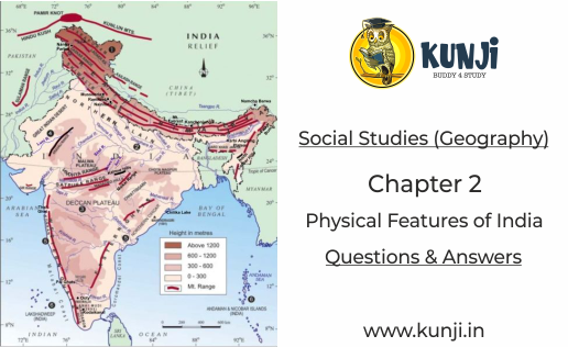 Physical Features of India Geography Class 9