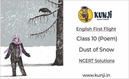Dust of Snow Class 10 CBSE English Poem Summary, Explanation, NCERT Solutions