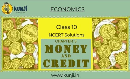 NCERT Solutions for Money and Credit Chapter 3 Class 10 Economics
