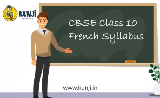 CBSE Class 10 french syllabus