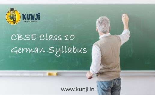 CBSE Class 10 German Syllabus for 2020-2021 Session