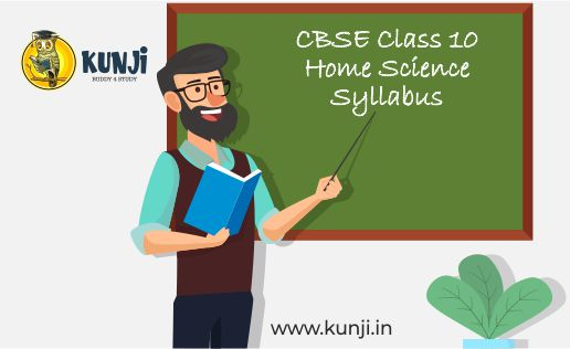 CBSE Class 10 home science syllabus
