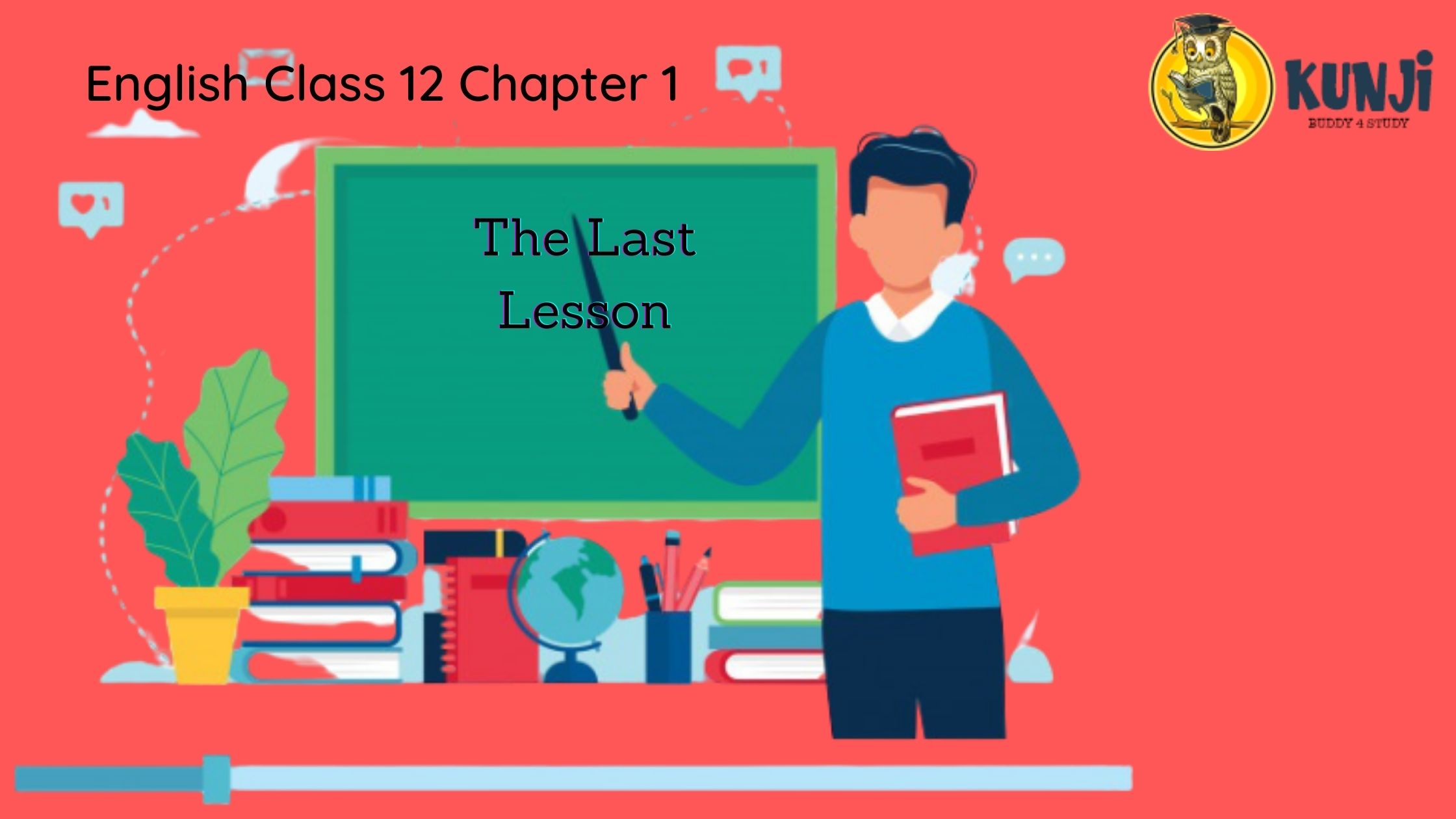 NCERT Solutions for English Class 12th Chapter 1 The Last Lesson