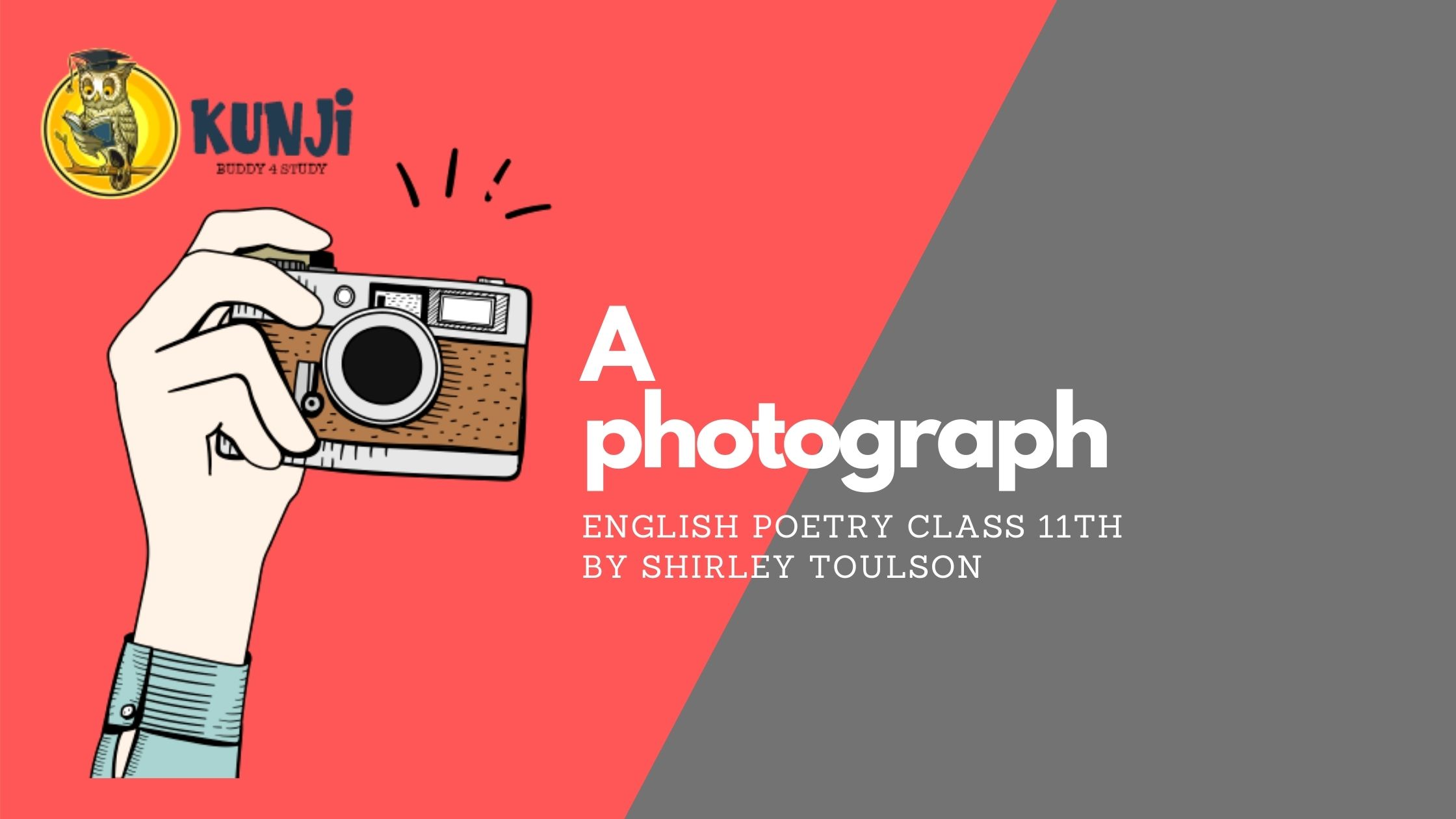NCERT Solutions for 11th Class English poetry A Photograph
