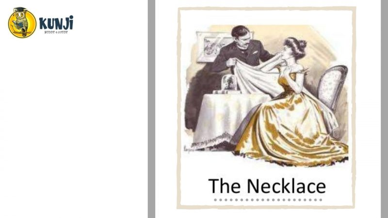 NCERT Solutions for 10th Class English Chapter 7 The Necklace
