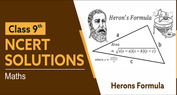 NCERT Solutions for Class 9 Maths Chapter 12 Heron's Formula