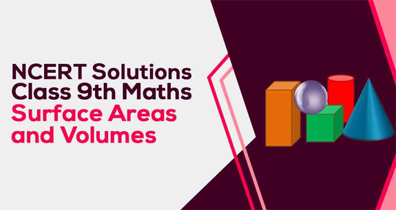 NCERT Solutions for Class 9 Maths Chapter 13 Surface Areas and Volumes